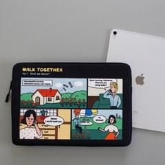 노트북 파우치 - 워크 투게더 (아이패드11,13,15인치)