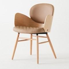 IM_C_0189 버즈 체어 스틸 인조가죽 인테리어 의자
