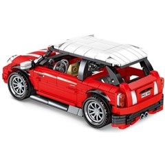 셈보블럭 중국레고테크닉 레드 미니자동차 MINI 초등학생선물 701503