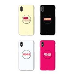 아이폰12 미니TC-타이포 스마트톡 하드 케이스