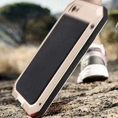 아이폰12프로 강화유리 멀티 메탈 하드 케이스 P123_(3420324)
