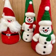 인테리어 스탠딩 눈사람 산타 소품 장식 크리스마스