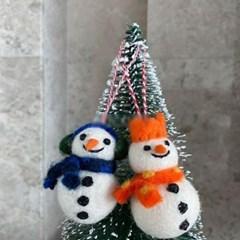 눈사람 트리 장식 소품 꾸미기 인테리어 크리스마스