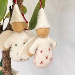양모 천사 꾸미기 장식 소품 인테리어 크리스마스