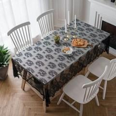 감성 테이블웨어 레이스 테이블보 식탁보 협탁보