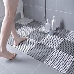 인블룸 욕실 미끄럼방지 안전 발매트 5P세트_(3041411)