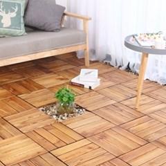 원목 베란다 조립식 마루 바닥 타일 현관 발코니 데크 테라스 바닥재