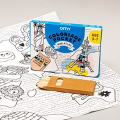 OMY 포켓 컬러링-미니 아틀라스(OMY-COLOK04)