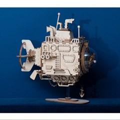 AM680 Submarine 잠수함 D.I.Y 뮤직 박스 (오르골)