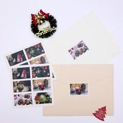 [제미포티] 데일리감성스티커_크리스마스(5매)
