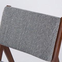 KTA_C_0199 C390 우드 체어 인조가죽 패브릭 쿠션 의자