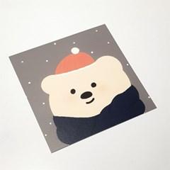 겨울 문곰이 드로잉 엽서 2종