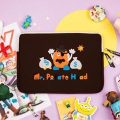 [디즈니] 토이스토리 13인치 노트북 파우치_미스터포테이토헤드