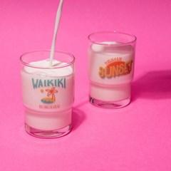WAIKIKI GLASS CUP (245ml)