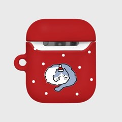 X-mas chichi-red(Hard air pods)_(1705382)
