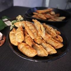 마니만두 쭈글 군만두1.4kg 비빔만두 야끼만두