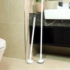마니클린 길이조절 밀대 매직 청소솔 욕실 천장 바닥