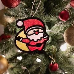 크리스마스 한지 오너먼트/가랜드 DIY 키트 (5종 세트)