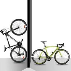 스토리셀 틈새 벽걸이 자전거 거치대(MTB) 1개 색상랜덤