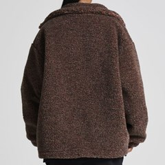 NUVV FLEECE MIX BROWN