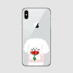 [아이폰] 프러포즈 찰떡이 콩떡이 젤리케이스