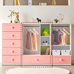[에띠안]비비아나 베이비 유아 아기 키즈옷장 오픈형 800 4색상