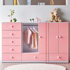 [에띠안]비비아나 베이비 유아 아기 키즈옷장 도어형 600 4색상