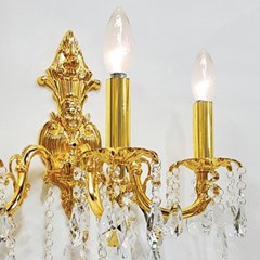 촛대 크리스탈  3등 벽등-캐스팅