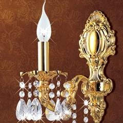 촛대 크리스탈  1등 벽등-신주