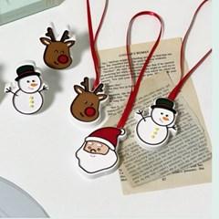 크리스마스 석고방향제(차량용, 고리용)