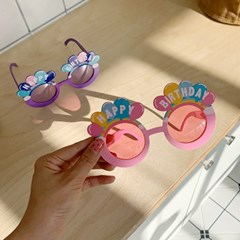 Rainbow Ballon Glasses 무지개풍선안경