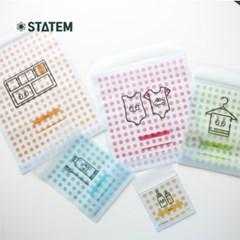 스타템 친환경 어린이준비물 파우치 5종세트