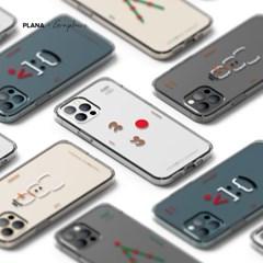 PLANA 크리스마스 시리즈 갤럭시 S21 플러스 아이폰 12 미니 케이스