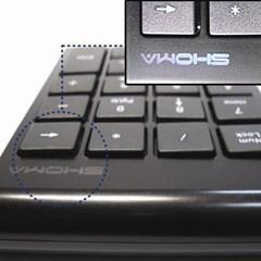 [SHOMA] 노트북키보드 방식의 숫자 키패드D1-BW