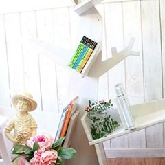 나무가지 책꽃이