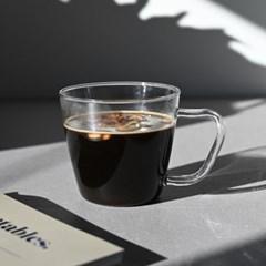 모스 내열유리 삼각 머그 컵 200ml_(1762085)