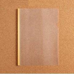 1p 스터디플랜 투명 쫄대 파일(옐로우)