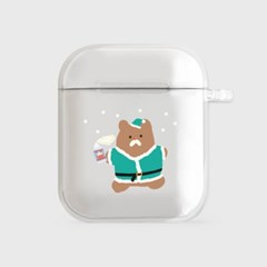 산타 gummy [airpods clearcase]_(990108)