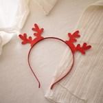 크리스마스 루돌프 사슴 아기머리띠
