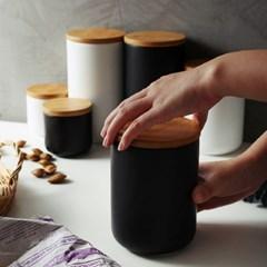 온나 원형 밀폐 원두통 조미료통 보관용기