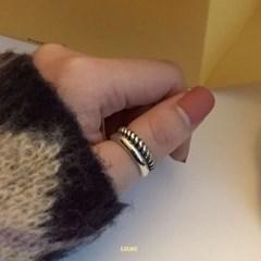 [925실버] 프네 볼드 반지