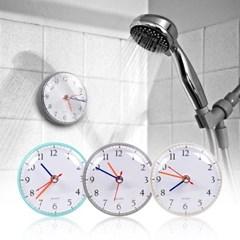 국산 플라이토 젤리 무소음 욕실 흡착 방수시계