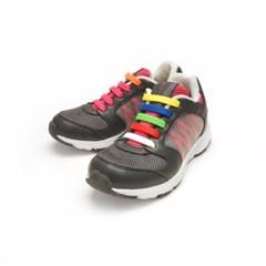 국산 쿨레이스 매듭없는 실리콘 운동화 신발끈 12P