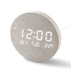 플라이토 문클락 인테리어 LED 벽시계 19.5cm