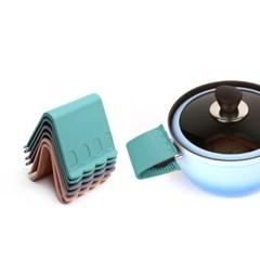 국산 플라이토 실리콘 디자인 냄비손잡이 2P