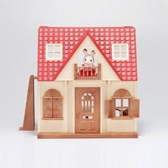 EF-30 초콜릿 토끼의 빨간지붕이층집 스타터가구세트_(1587858)