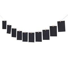 가랜드 종이액자 10p세트(5x7) (블랙)
