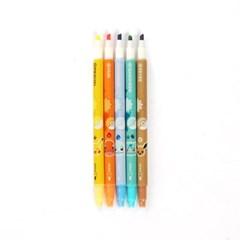 포켓몬 지워지는 형광펜 5색세트
