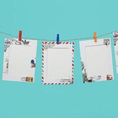 엽서가랜드 종이액자 9p세트(5x7)
