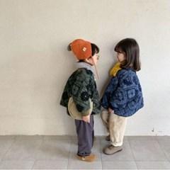 돌핀웨일 퓨어페이즐누빔겨울점퍼(70~130cm)